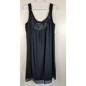 MSSP Black 100% Silk Dress Sz L
